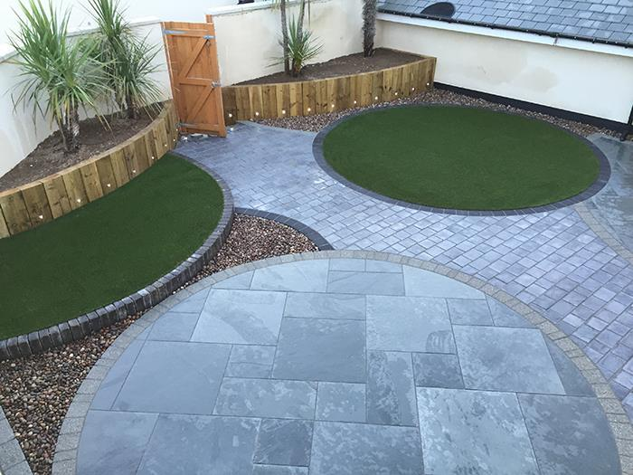 Casarta Slate by Able Landscaping by Able Landscapes