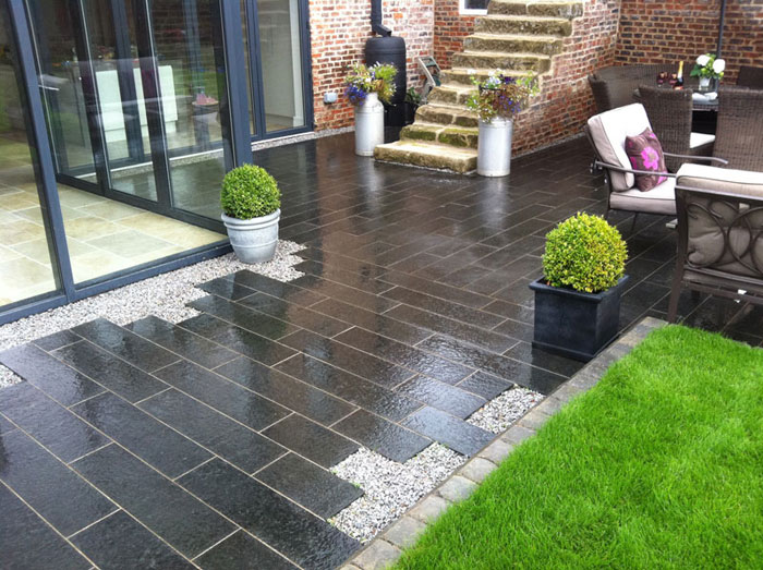 Eclipse Granite & Tegula Kerb by Academy Landscapes