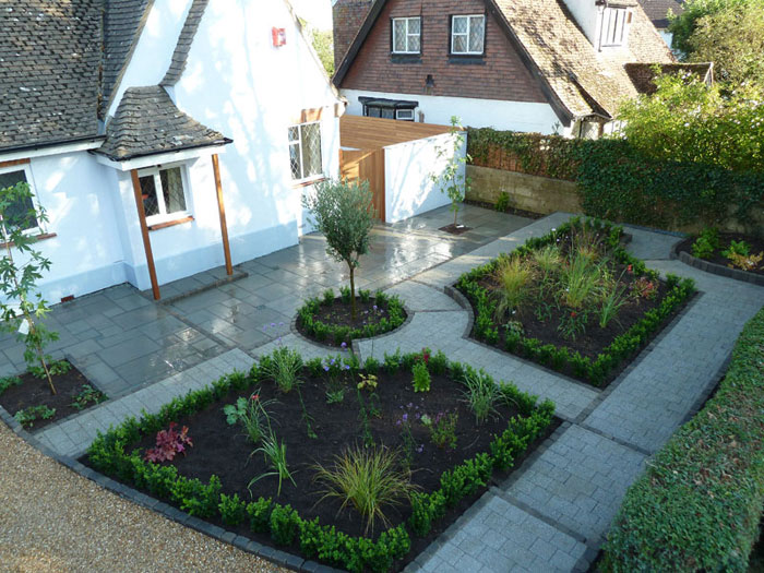 Drivesett Argent & Fairstone Riven by Arbworx Ltd