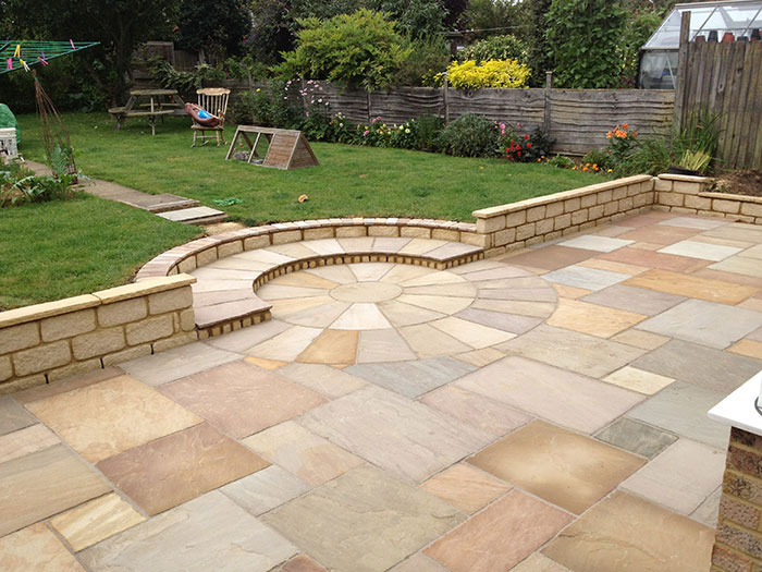 Indian Sandstone by Artisan Hardscape Solutions