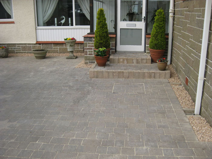 Drivesett Tegula Original & Kerbs by Ayrshire Driveways