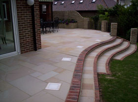 Fairstone Sawn & Fairstone Walling by Boulevard Lndscps