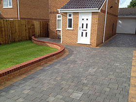 Drivesett Tegula by Branching Out Landscapes