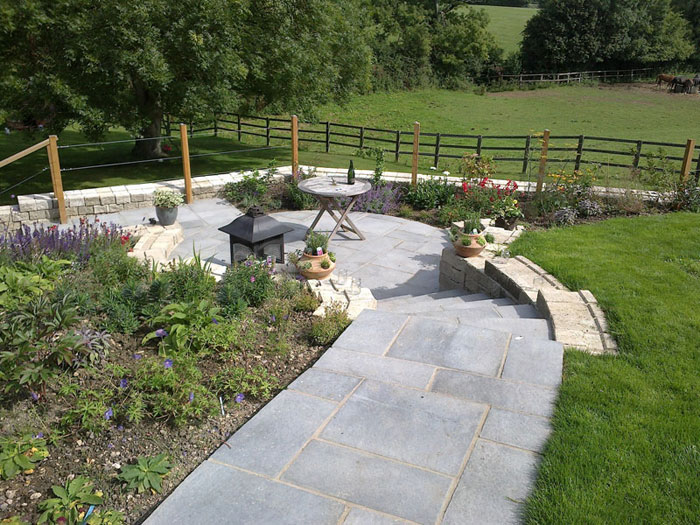Firedstone Paving by Brett Hardy Landscapes Ltd