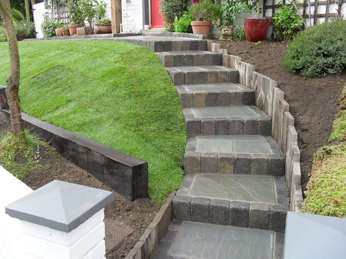 Woodstone sleepers for Punch home and landscape design won t install