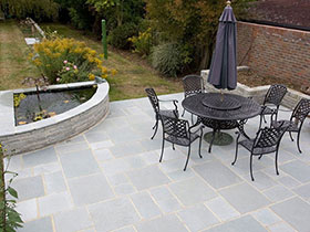 Fairstone Antique & Fairstone Walling by Cannon Garden Svcs