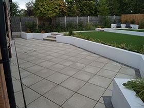 Saxon Paving by Central Drives