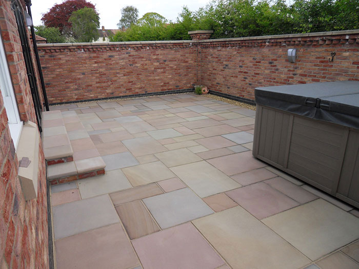 Fairstone Sawn by Charles William Paving & Landscapes Ltd