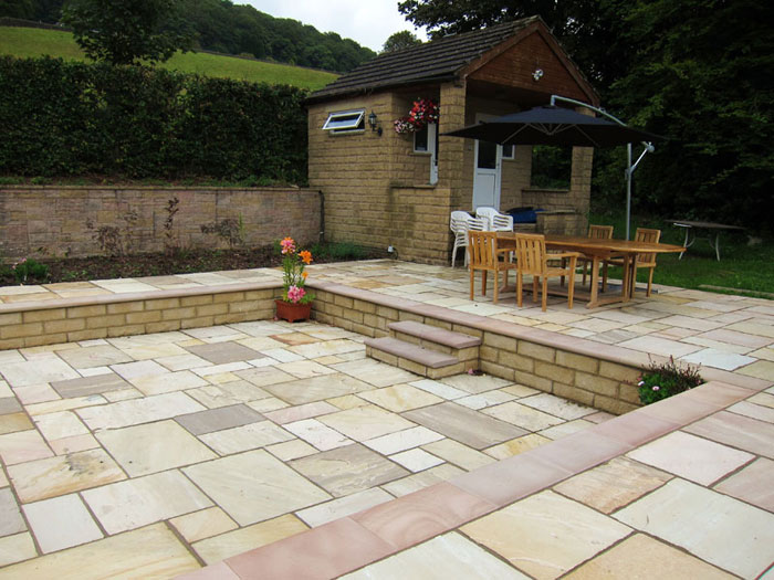 Fairstone Sawn Steps & Indian Sandstone by Chris Hallinan