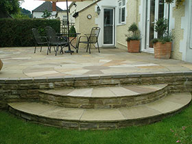 Indian Sandstone by Cotswold Paving & Landscaping