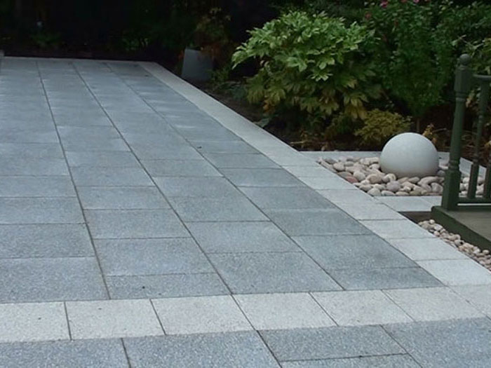 Argent Coarse Paving by Crystalclear