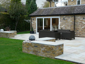 Fairstone Sawn by D & J's Garden Design