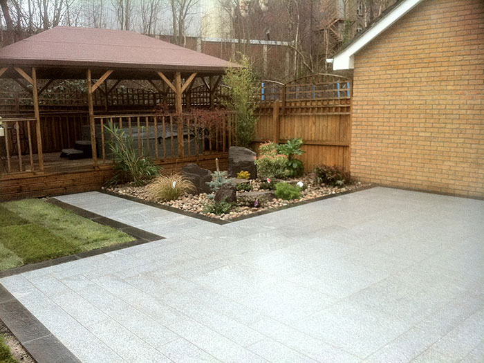 Fairstone Eclipse Granite by Darrow Knowler Paving Contr