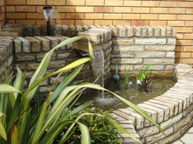 Fairstone Riven & Fairstone Walling by Direct Gardens