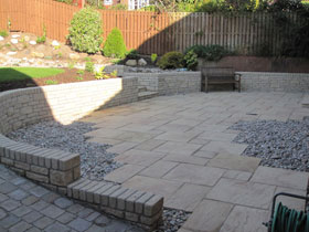 Heritage Paving & Tegula Walling by Direct Gardens