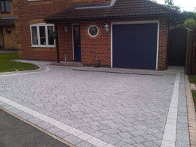 Drivesett Argent by G W H Paving Services Ltd