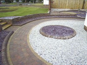 Drivesett Tegula Walling & Kerb by Gdn & Property Makeovers