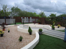 Argent Coarse Paving by Garden & Property Makeovers