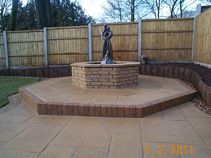 Marshalite Rustic Walling & Saxon Paving by Garden TLC