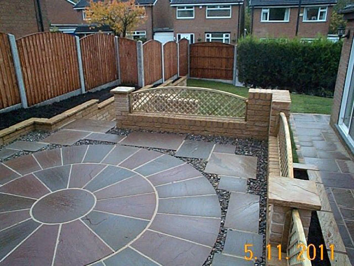Indian Sandstone by Garden TLC