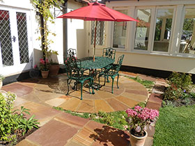 Indian Sandstone by Harlow Garden Services