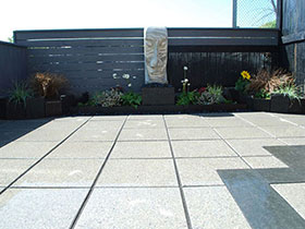 Argent Smooth Paving by Jacksons Landscape Design