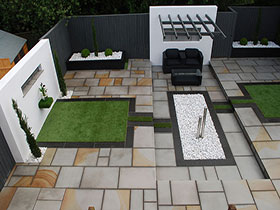 Fairstone Sawn by Jacksons Landscape Design