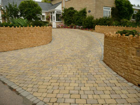 Drivesett Duo by Landcall Landscapes Construction Ltd