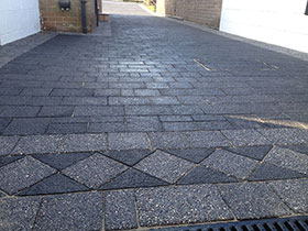 Drivesett Argent  by Langley Landscaping Services