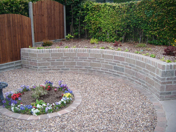 Drivesett Tegula Walling by Marsh Landscaping Ltd