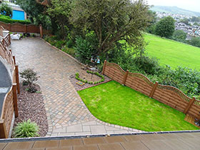 Drivesett Tegula by Mian Landscaping Services