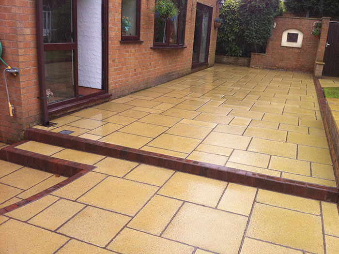 Saxon Paving by Moss Landscaping
