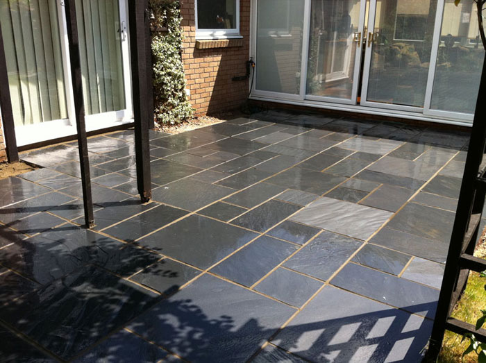 fairstone slate by coast garden design construction fairstone slate by