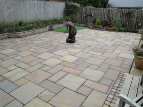 Fairstone Circles & Paving by Paving Perfection