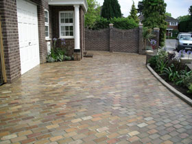 Fairstone Split and Tumbled Setts by Perfect Paving Ltd