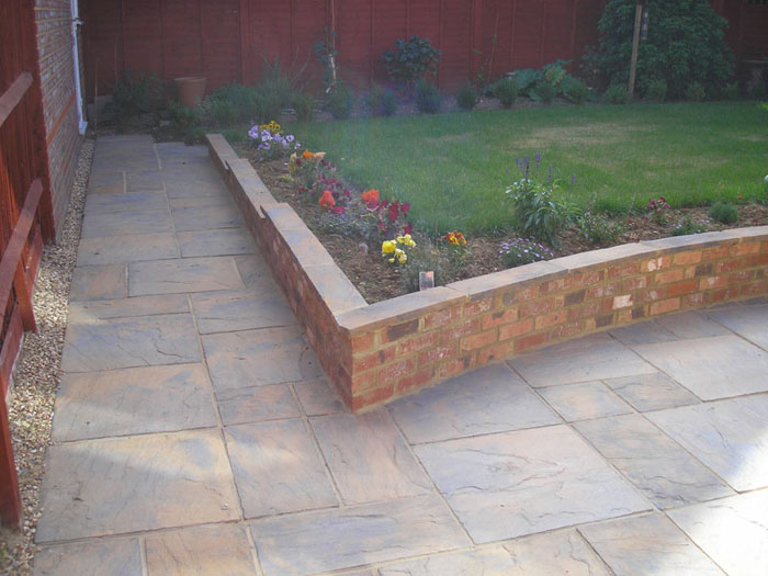 Heritage Paving & Old Mill Brick Walling by Placemill Ltd