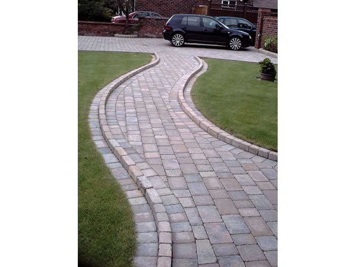 Drivesett Tegula Original & Drivesett Kerb by SP Paving