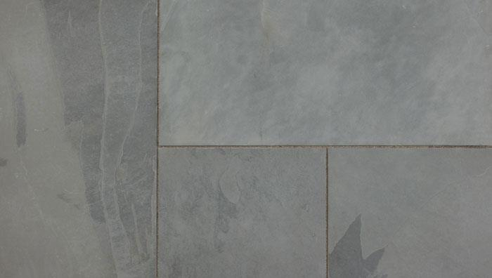 Fairstone Slate Casarta Garden Paving in Silver Grey