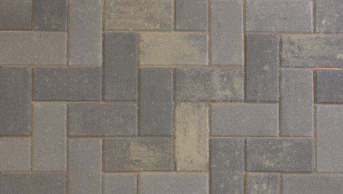 Driveline 50 Block Paving in Pewter Multi