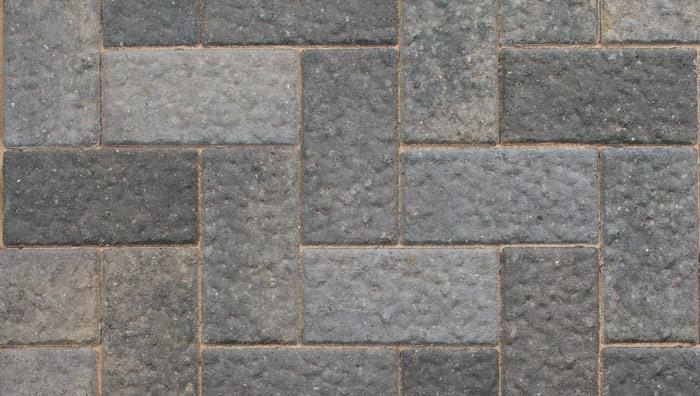 Driveline Elise Block Paving in Pebble Grey