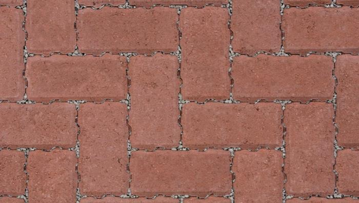 Driveline Priora Permeable Block Paving in Red