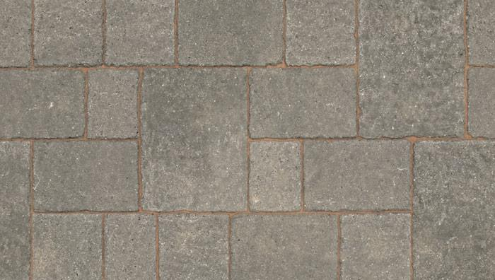 Drivesett Tegula Original Block Paving Circle in Pennant Grey