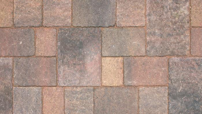 Drivesett Tegula Original Block Paving Circle in Traditional