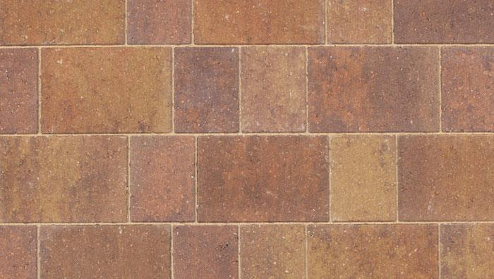 Drivesett Savanna Block Paving in Autumn