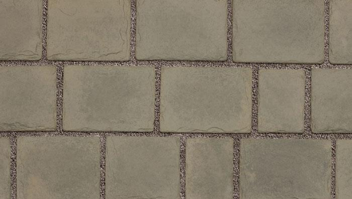 Drivesys Patented Driveway System Split Stone in Grey Green