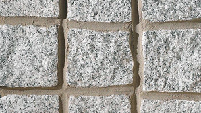 Fairstone Cropped Granite Setts in Silver Grey