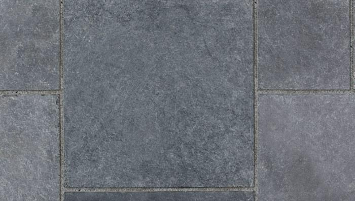 Fairstone Limestone Aluri Smooth Garden Paving in Sapphire Storm
