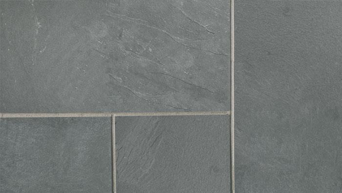 Fairstone Slate Natural Garden Paving in Midnight Blue