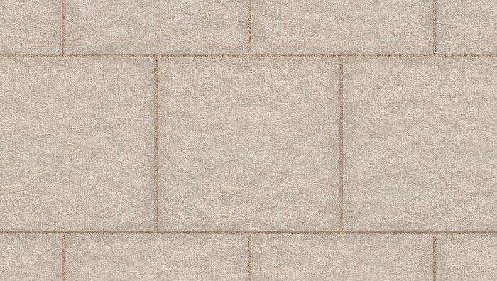 Organa Garden Paving in Cotton