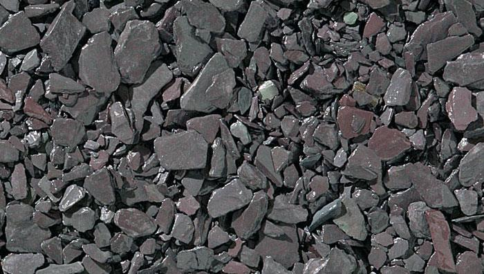 Slate Chippings 20mm and 40mm in Blue Slate